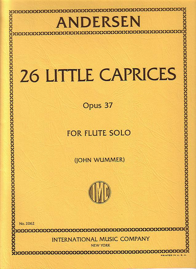 ANDERSEN - 26 Little Caprices Op.37