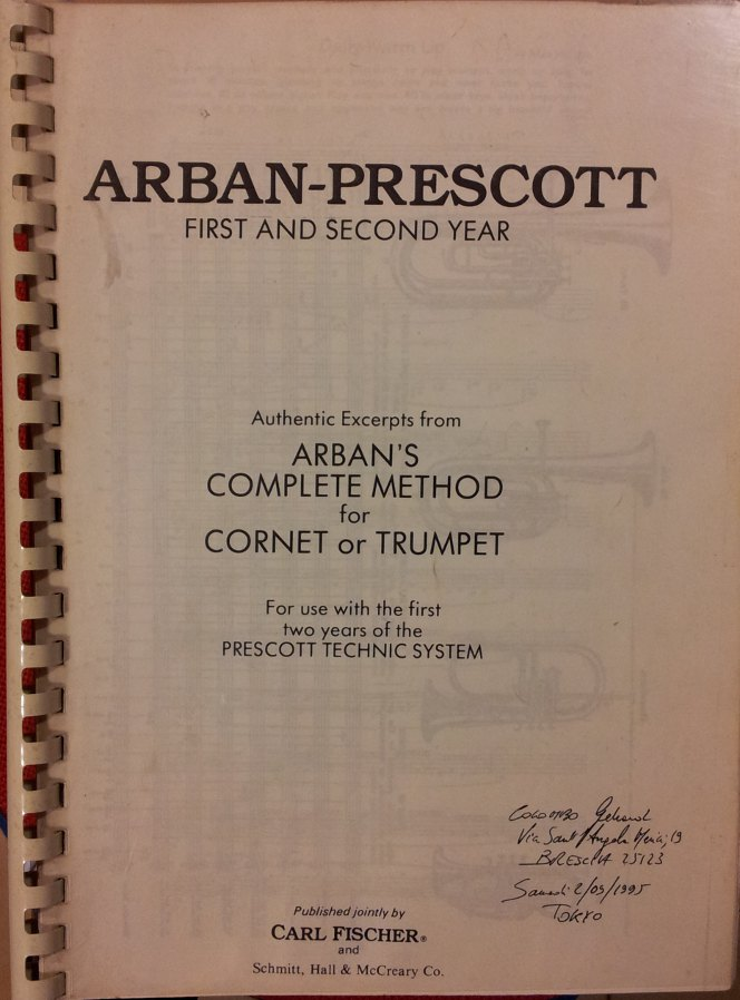 Arban-Prescott First and Second Year USATO ACCETTABILE