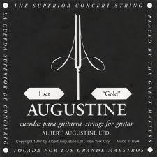 Augustine BLACK corde per classica LOW TENSION