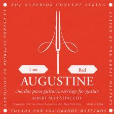 Augustine RED corde per classica Medium Tension
