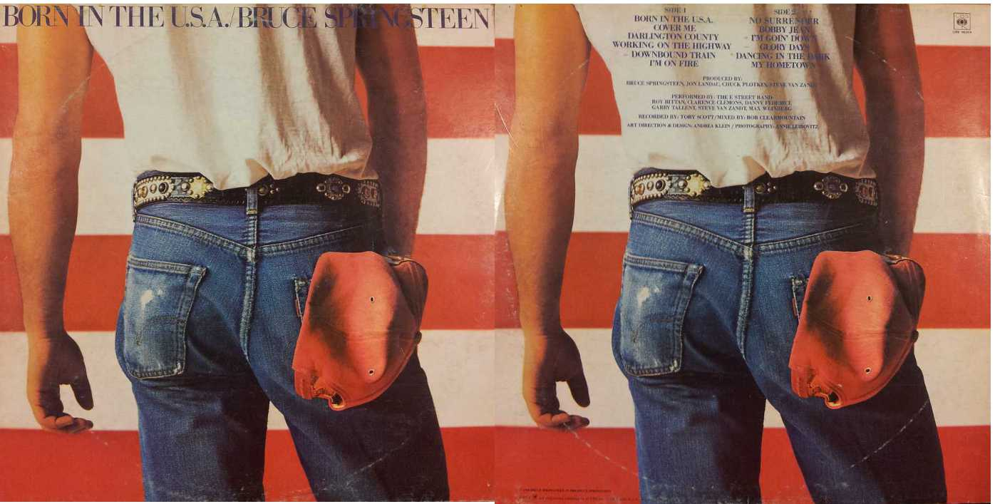 BRUCE SPRINGSTEEN - Born in The(LP/Vinile 33 giri) USATO BUONO