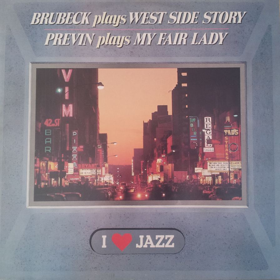 Brubeck Dave Plays West Side Story (LP/Vinile 33 giri)