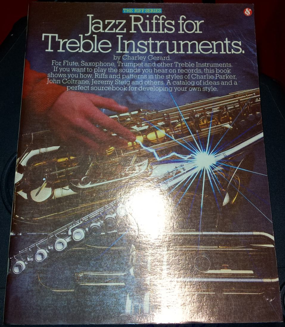 Gerard - Jazz Riffs for Treble Instruments SEMI NUOVO!!