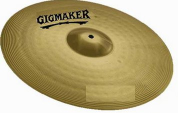 "Crash 16"" Gigmaher Yamaha by Paiste"