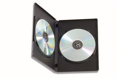Custodia per CD/DVD Nero