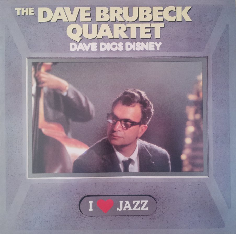 Dave Brubeck Quartet The ‎– Dave Digs Disney LP/Vinile 33