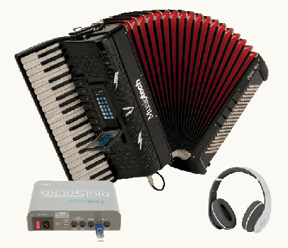 Musictech Fisarmonica a Piano Digital Box