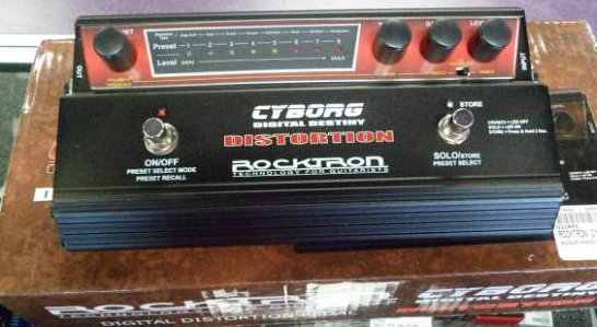 ROCKTRON Cyborg Distortion EX DEMO