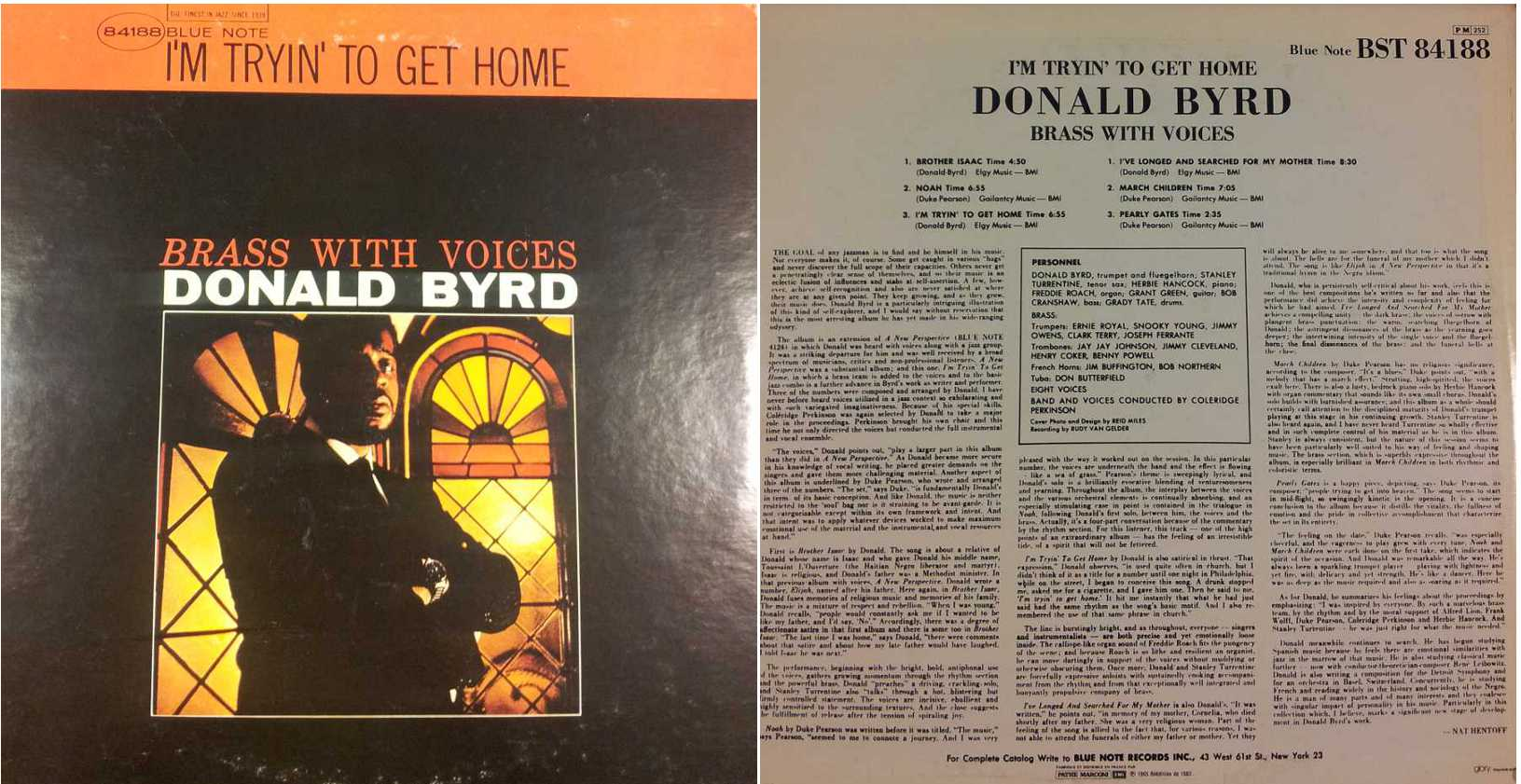 DONALD BYRD I'm Trying to Get Hom(LP/Vinile 33 giri) USATO BUONO