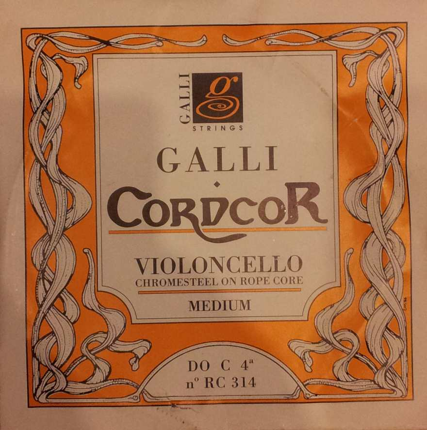 Galli 4° Corda DO per Violoncello