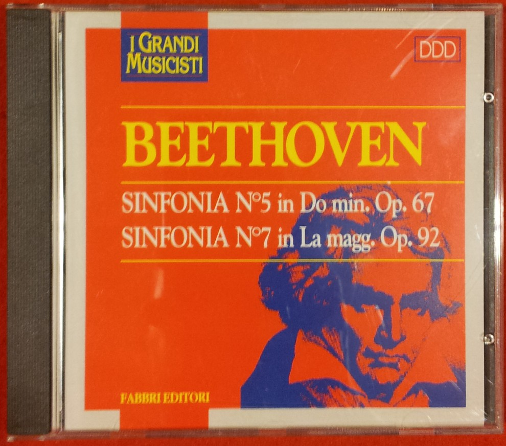 BEETHOVEN - Sinfonia N° 5 in Do min. Op. 67 Sinfonia N° 7 Op. 92