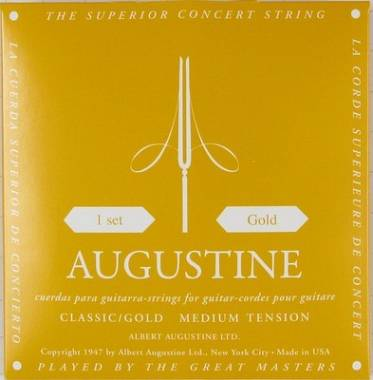 Augustine GOLD corde per classica Medium Tension