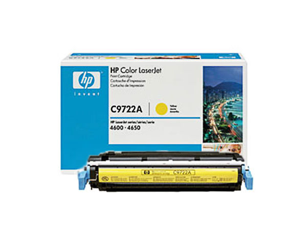 Toner Originale HP C9722A Giallo