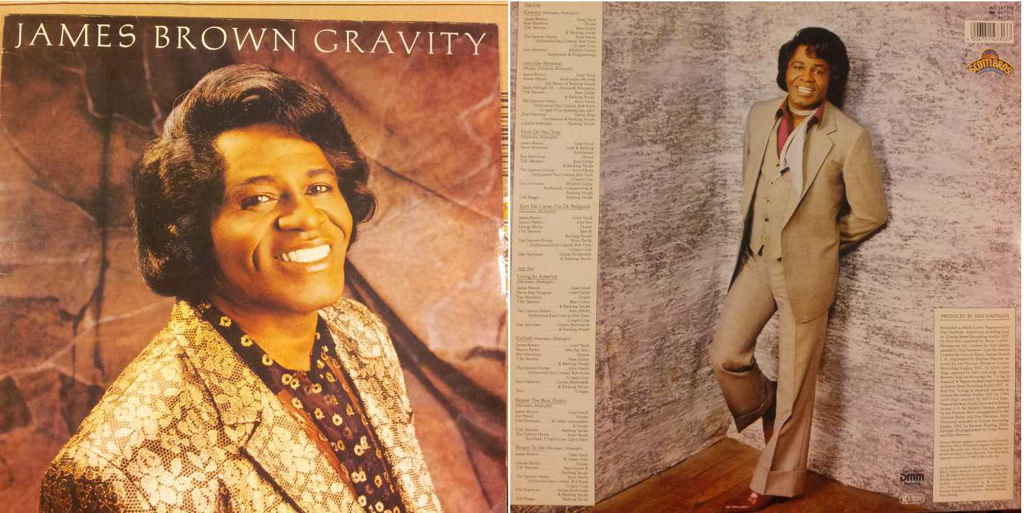 JAMES BROWN - Gravity(LP/Vinile 33 giri) USATO BUONO