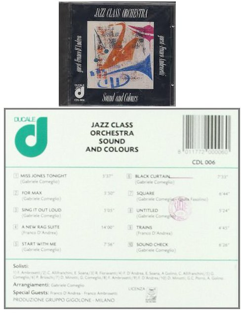 Jazz Class Orchestra - Sound & Colours USATO ACCETTABILE