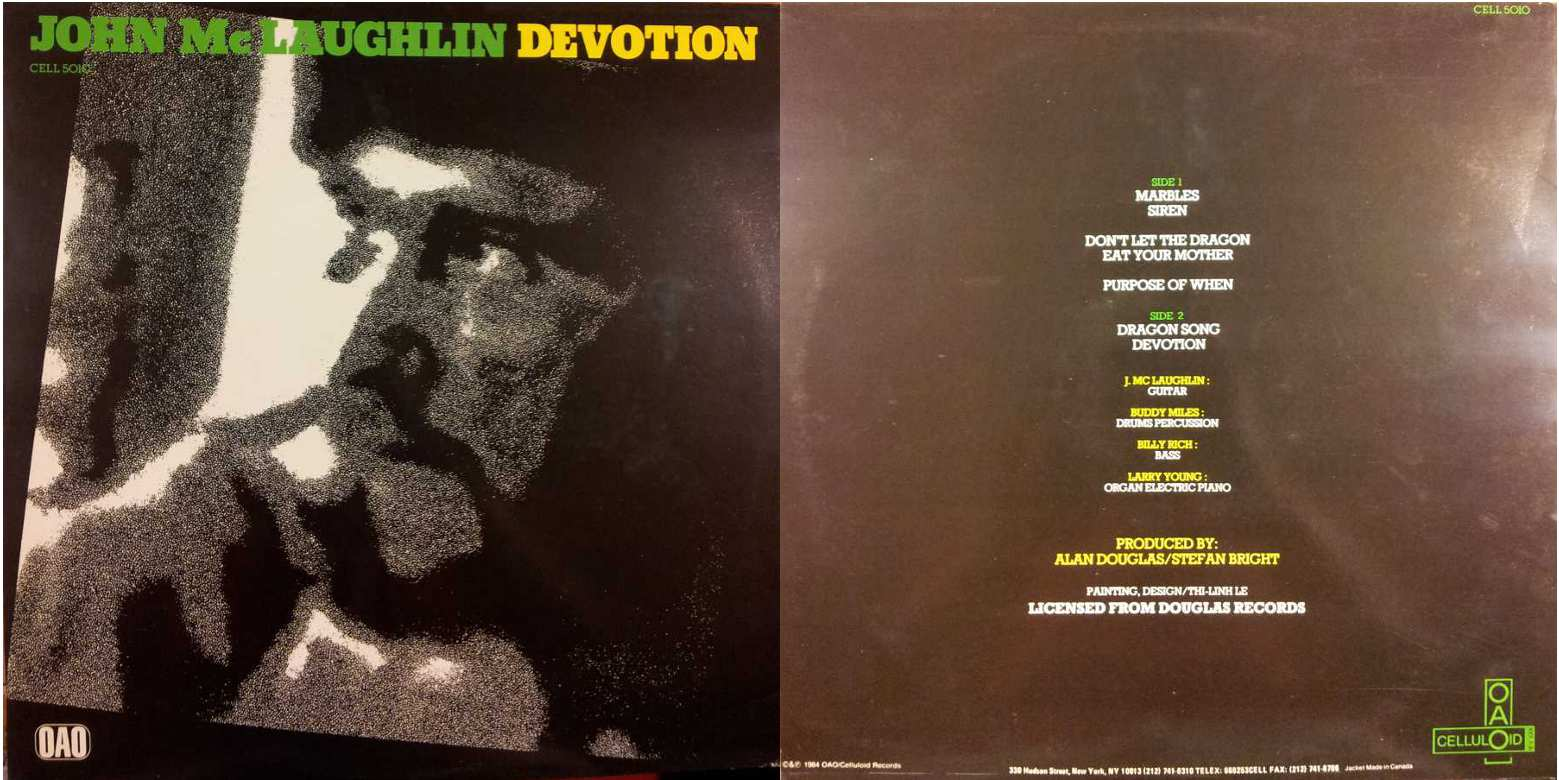 JOHN MC LAUGHLIN - Devotion (LP/Vinile 33 giri) USATO BUONO
