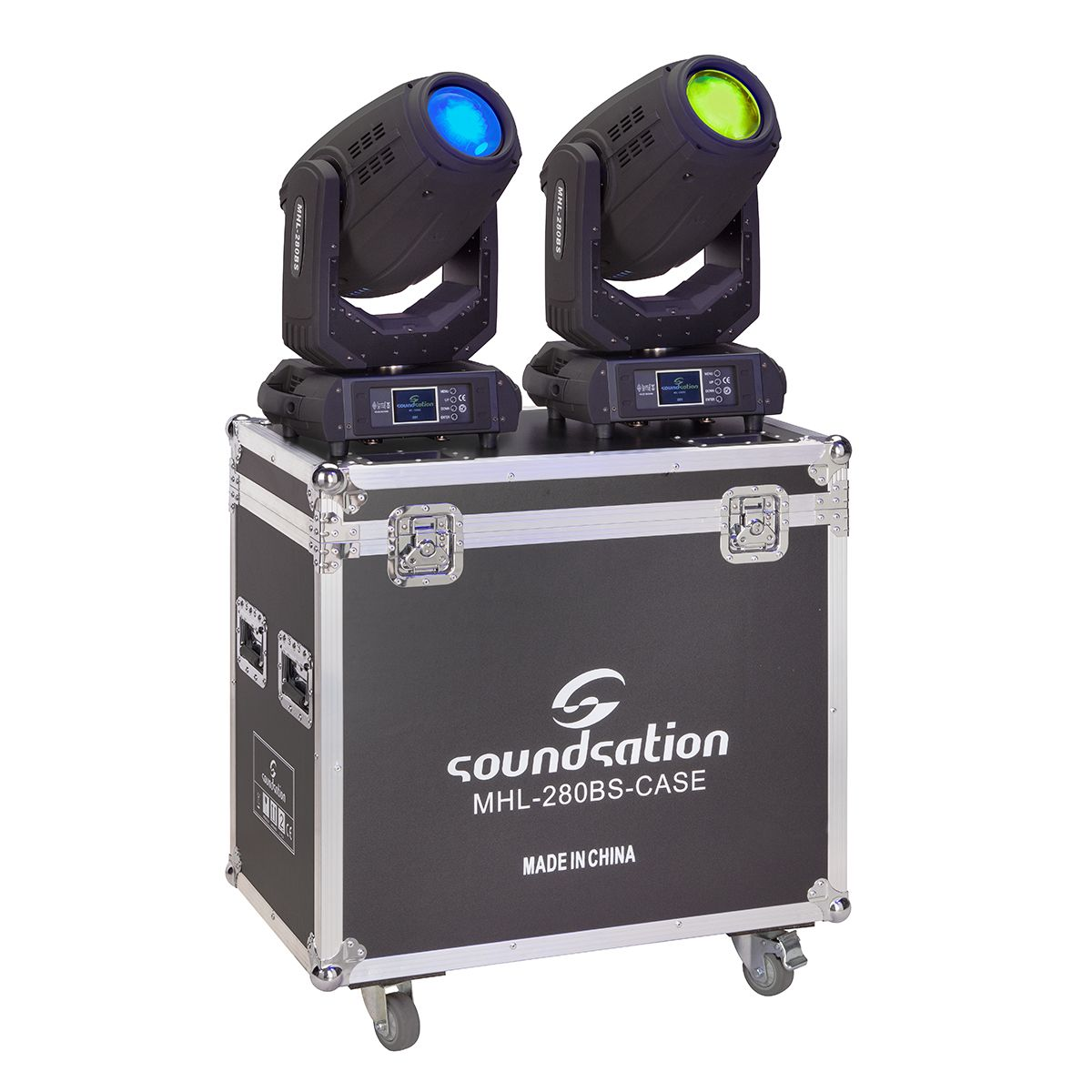 SOUNDSATION MHL-280BS SET - Set 2 Teste Mobili Beam&Spot 280W