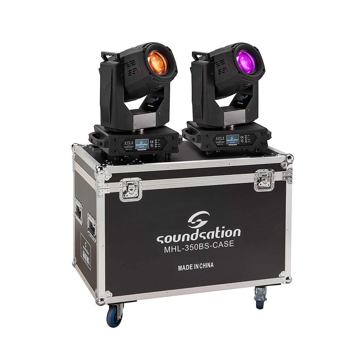 SOUNDSATION MHL-350BS SET - Set 2 Teste Mobili Beam 17R 350W