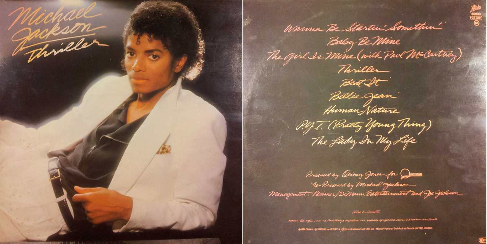 MICHAEL JACKSON - Off The Wall (LP/Vinile 33 giri) USATO BUONO