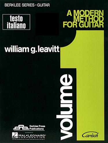 LEAVITT - A Modern Method For Guitar Volume 1
