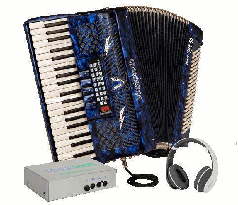 Musictech Fisarmonica a Piano Music Maker Digital 50