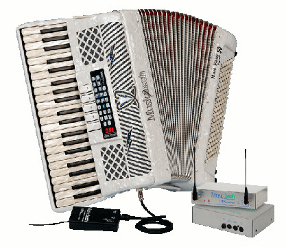 Musictech Fisarmonica a Piano Music Maker Digital 50 A