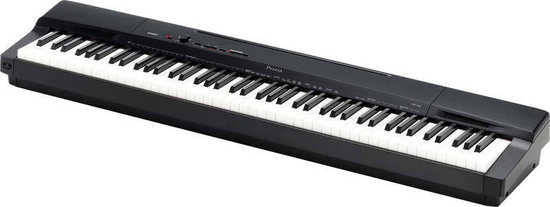 Casio Privia PX-160BK pianoforte digitale NERO 88 tasti pesati