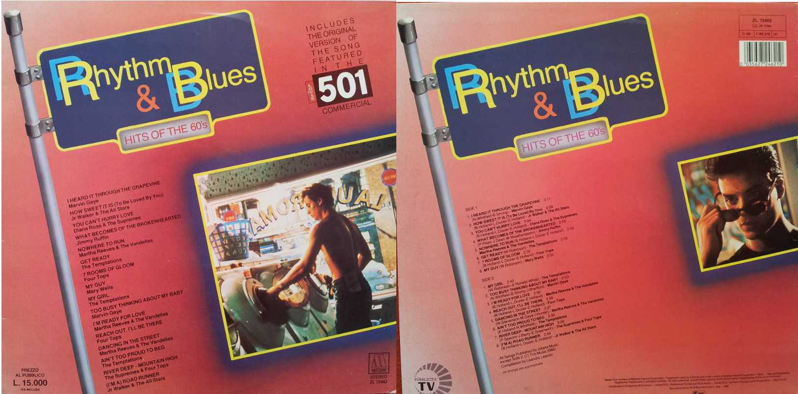 RHYTHM & BLUES - Hits of the 60s (LP/Vinile 33 giri) USATO BUONO