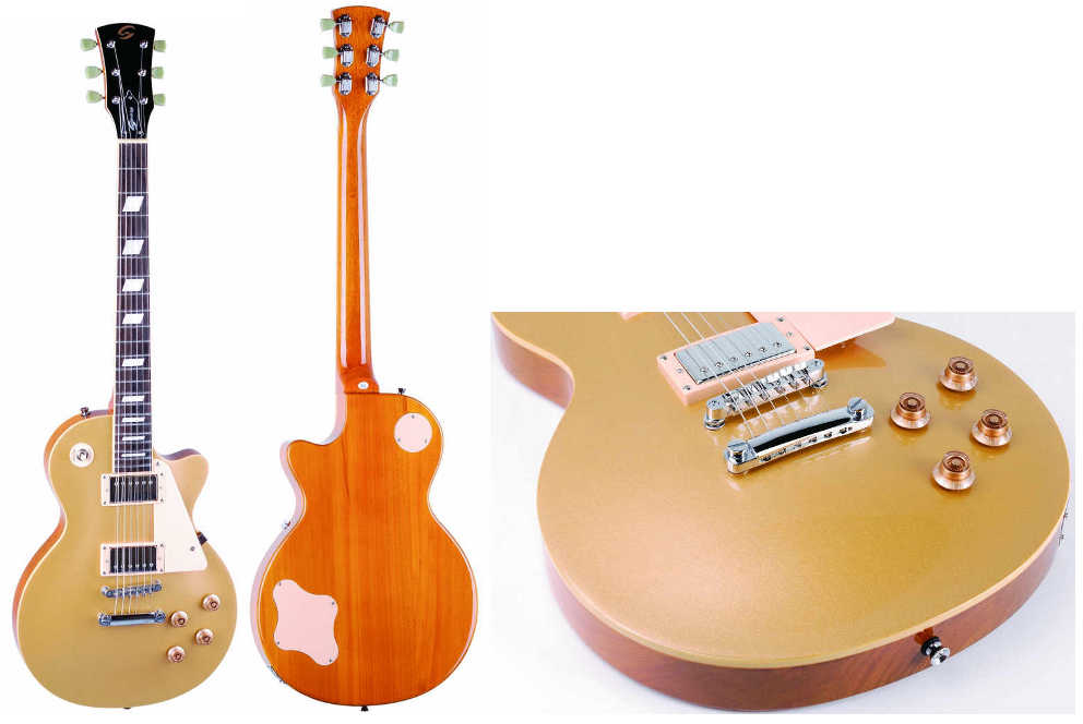 Soundsation Chitarra Elettrica Mod. Les Paul GT Gold Top