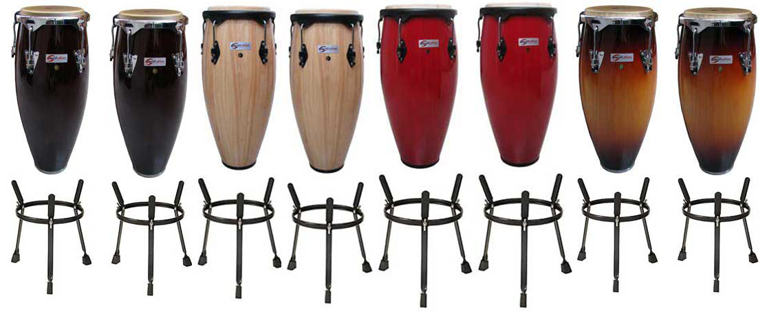 "Soundsation Set Quinto e Congas 10""-11"""