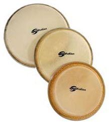 Soundsation Pelle naturale Bongo 6""