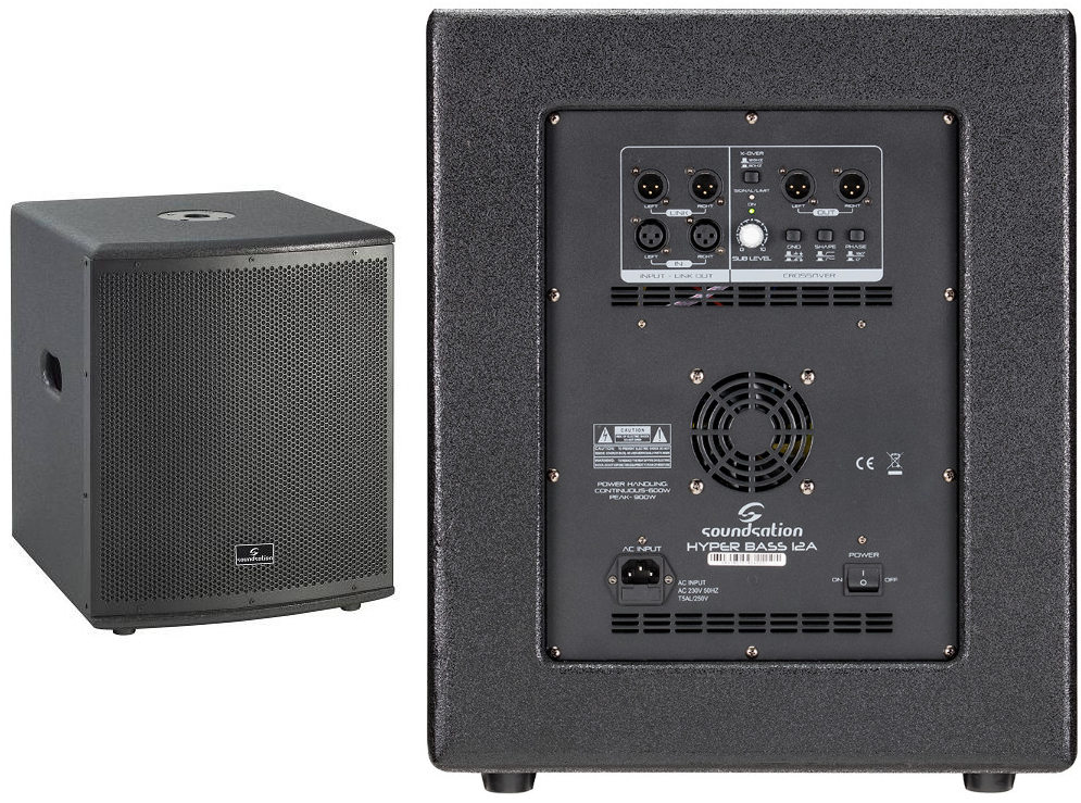 Soundsation HYPER BASS 12A subwoofer amplificato 900W
