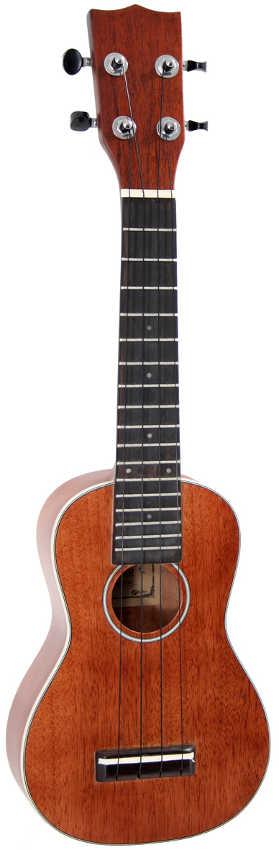 Soundsation Ukulele Soprano in Mogano Massello