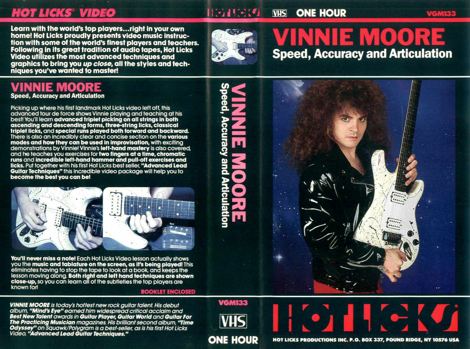 V. Moore - Speed, Accuracy and Articulation / videocassetta VHS